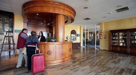 Recepción Hôtel ATH Cañada Real Plasencia